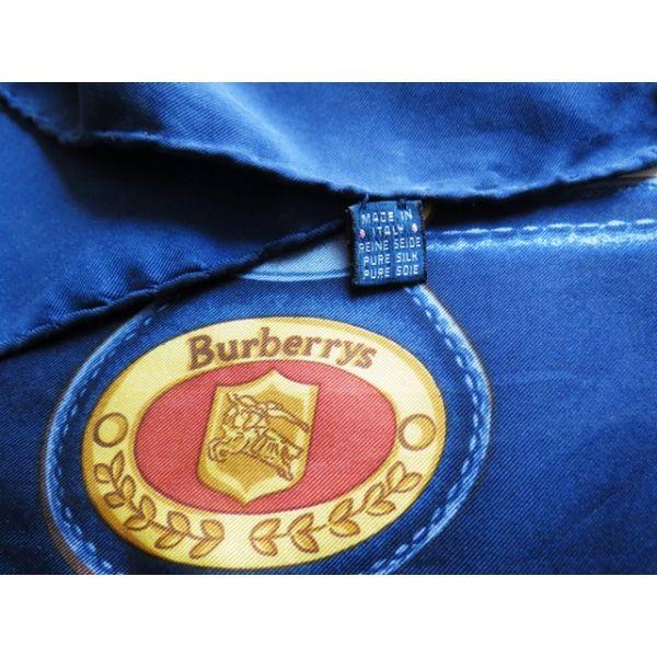 burberrys, seta, scarf, sciarpa, Foulard Carré en Soie, pas cher, seidentuch, vintage  new on expert-vintage.com