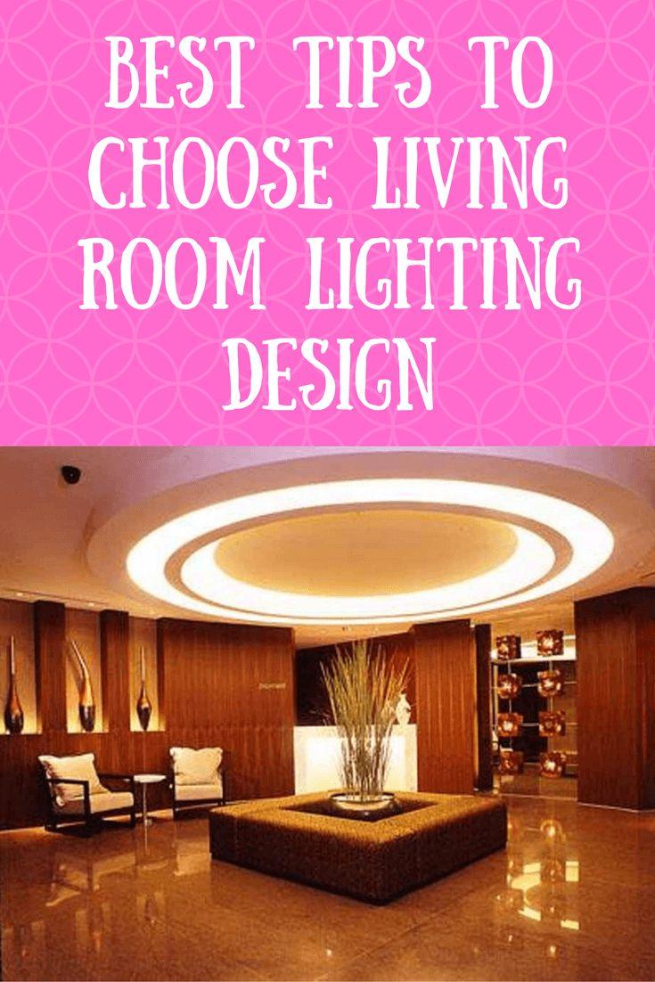 Best tips to Choose Living Room Lighting Design #livingroomlighting