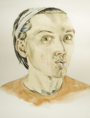 Self-portrait. 2009.