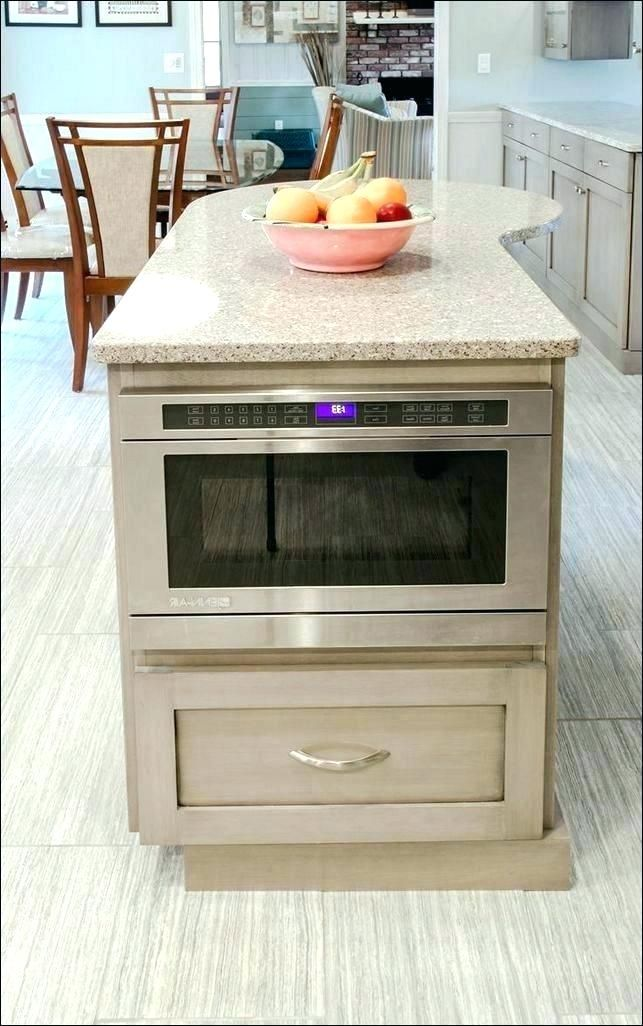 Realistic Undercabinet Microwave Ovens A75392 Counter Microwave Under Cabinet Microwave Kitchen Island With Seating Diy Kitchen Island Kitchen Island Cabinets