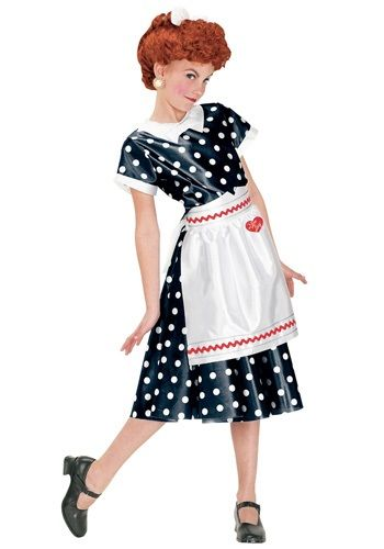 Girls I Love Lucy Costume