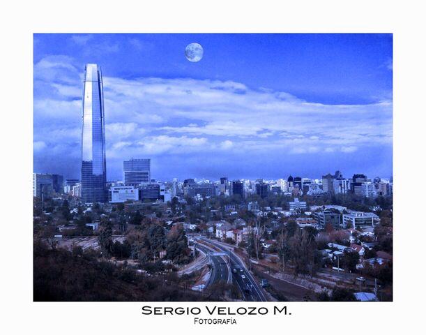 Santiago - Chile  Costanera Center 2013