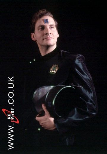 Red Dwarf's Arnold Rimmer: This self-centered, self-preserving, arrogant and yet under-achieving member of the Red Dwarf team is actually a hologram representation of the late Arnold Rimmer.   A fun character when contrasted to Dave Lister and Kryten.