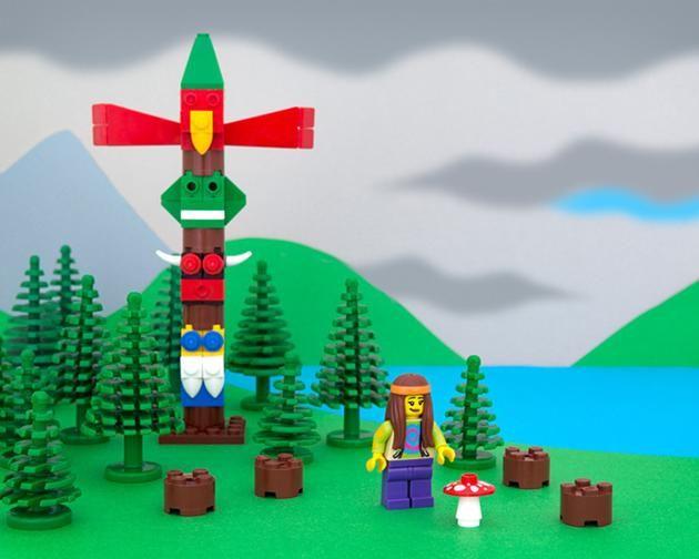 LEGO Canada provinces - British Columbia - A magical harvest.