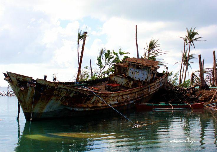 Shipwreck on Tubabao Island, Philippines