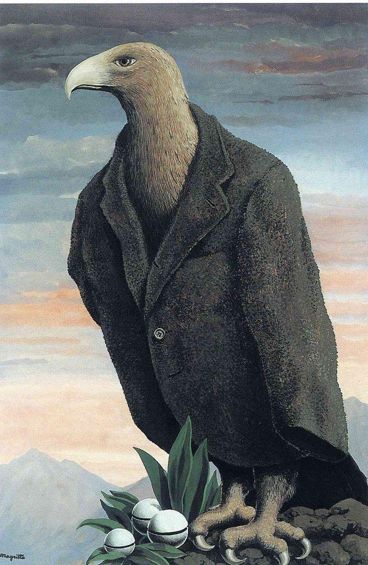 The present, 1939 - Рене Магритт
