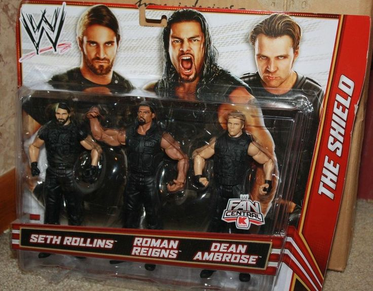 Wwe Kaitlyn Action Figure the shield wrestling f...