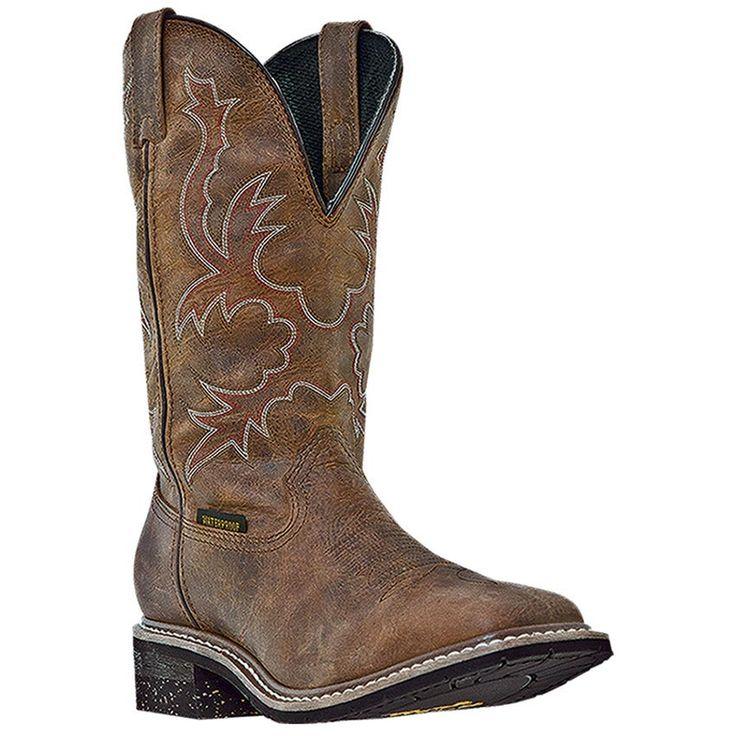 Dan Post Men's Nogales Waterproof Western Work Boots