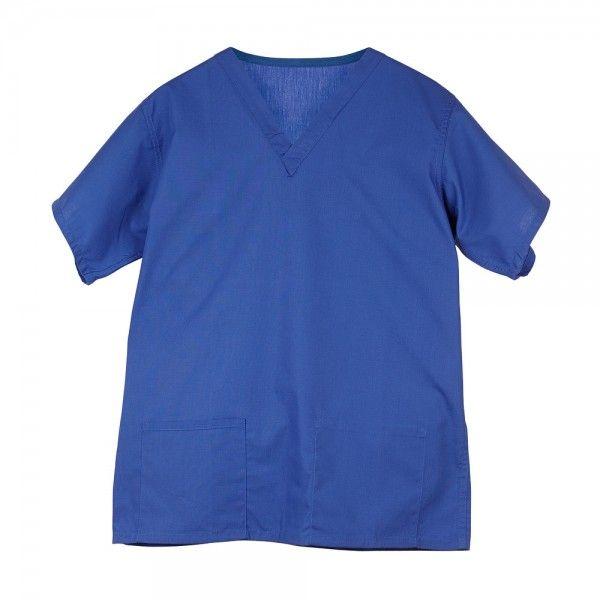 Budget Scrub Top in Royal Blue £9.99  #medicalscrubs #nursescrubs  #nurses #bluescrubs #nurseuniform