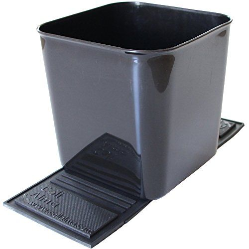 Auto Car Vehicle Garbage Can Trash Bin Waste Container Quality Plastic EXTRA LARGE, 1 Gallon, 4 Liter,