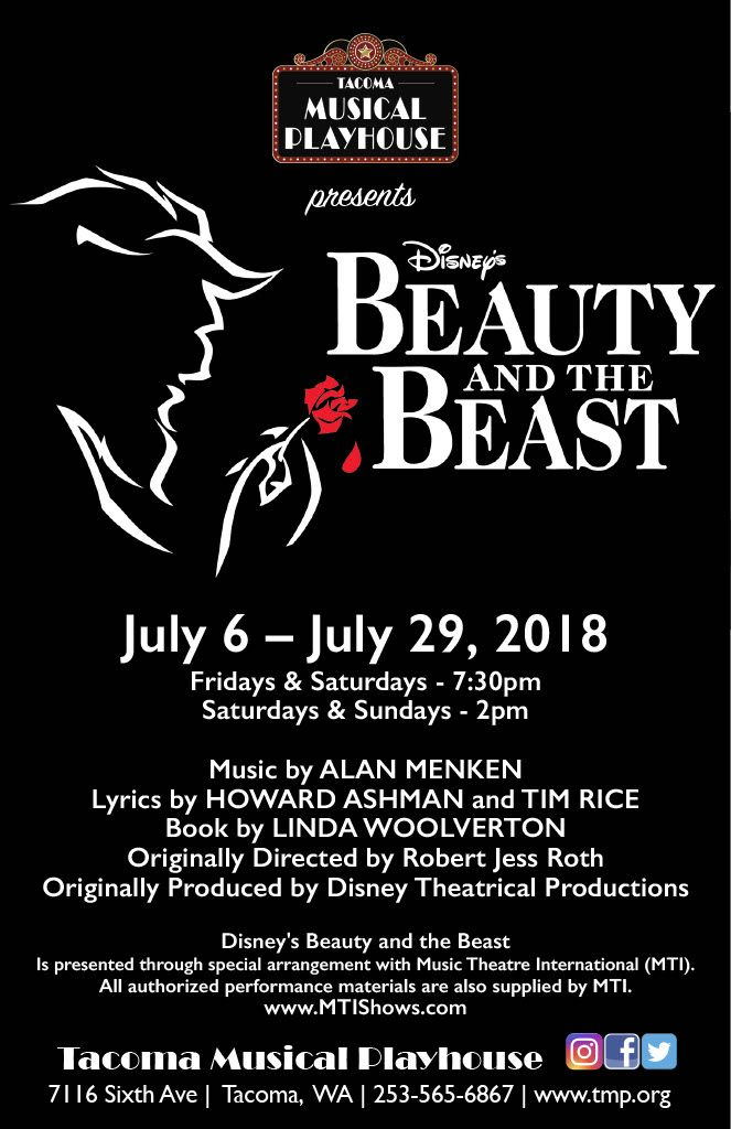 Pin By Tacoma Musical Playhouse On Tmp S Disney S Beauty And The