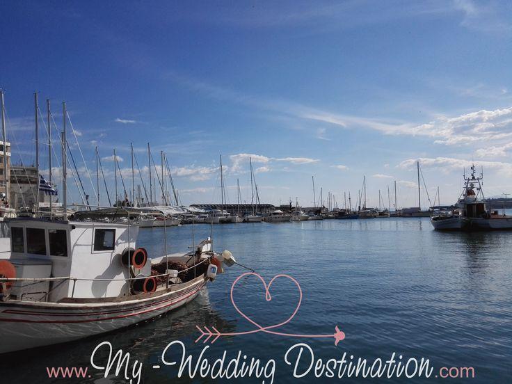 Βόλος...ένας μοναδικός προορισμός 12 μήνες τον χρόνο, μια καταπληκτική επιλογή για έναν ονειρεμένο γάμο...  Port / Volos / Greece  Facebook : myweddingdestination