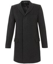 Charcoal Epsom Coat: Charcoal Epsom, Epsom Coats