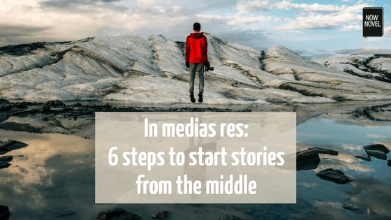 Learn what 'in medias res' in narration means, how to begin a story in medias res and examples of great first lines that open stories in the middle.