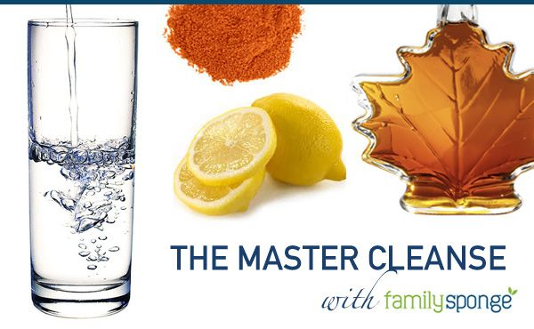 The Master Cleanse.. my new favorite diet. Last time I did it I lost 12 lbs in 1...