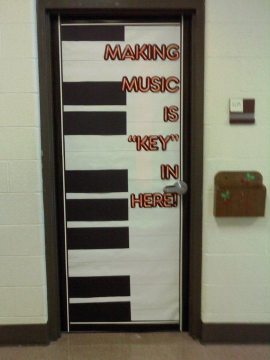 Music Classroom Design Ideas ~ Best door decorating images on pinterest george