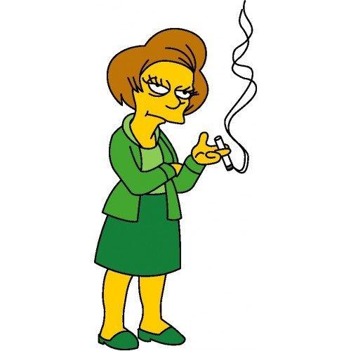 The Simpsons - Edna Krabappel