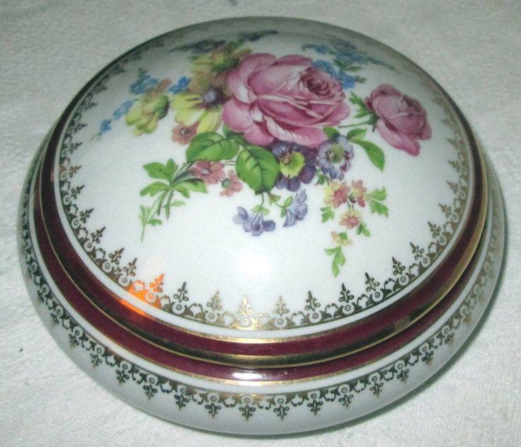1000 images about la bonbonni re en porcelaine limoges on for Decoration sur porcelaine