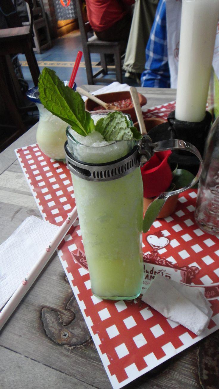 Limonada con yerbabuena en Andres Chia