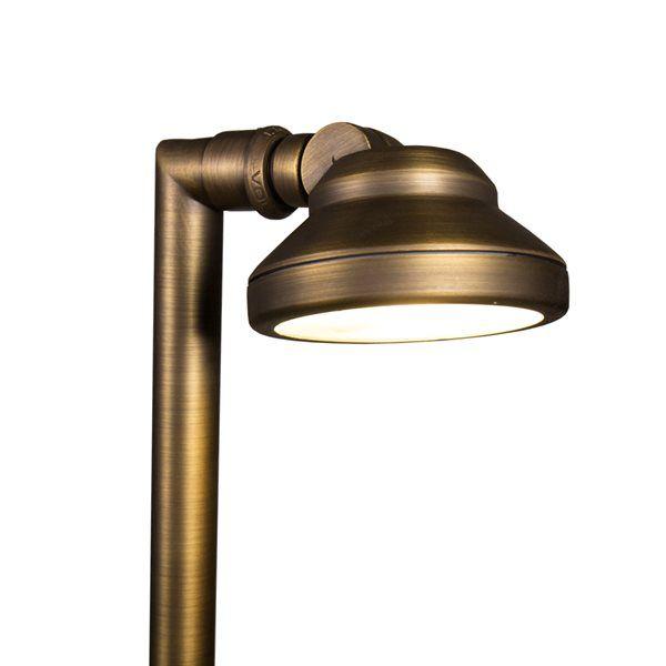 volt elevator cast brass path and flood light - Volt Landscape Lighting
