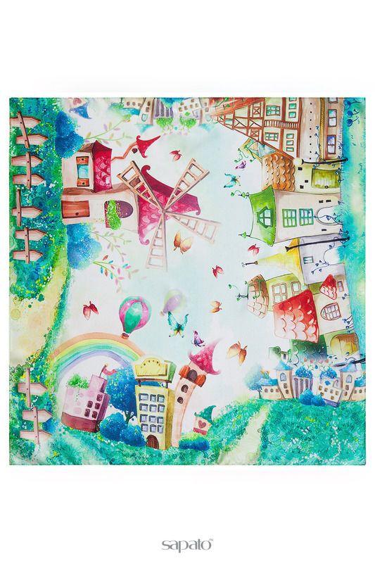 Купить зеленые платки/шарфы/палантины Платок в интернет-магазине Sapato