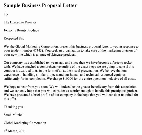 Business Proposal Letter Template Beautiful Sample Business Proposal Letter Proposal Letter Business Proposal Letter Business Proposal Sample Sample business proposal letters