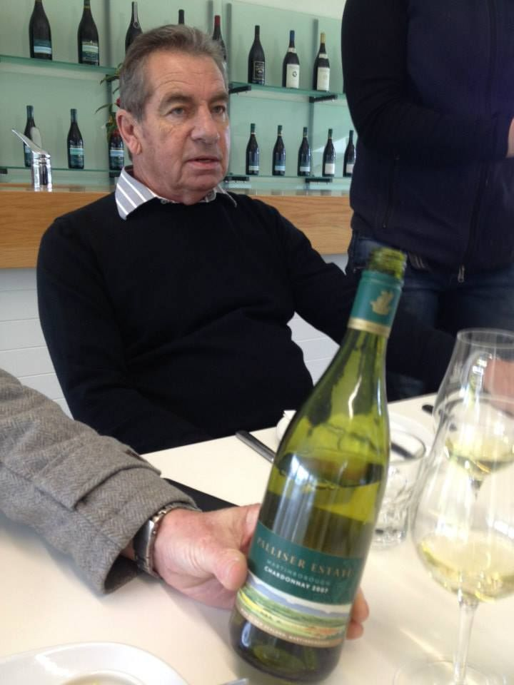 Love this August 2013 pic of Richard Riddiford of Palliser Estate, #nzwine