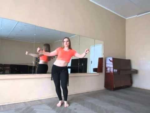 """Как делать движение """"Маятник"""". Танец живота - это просто!"""