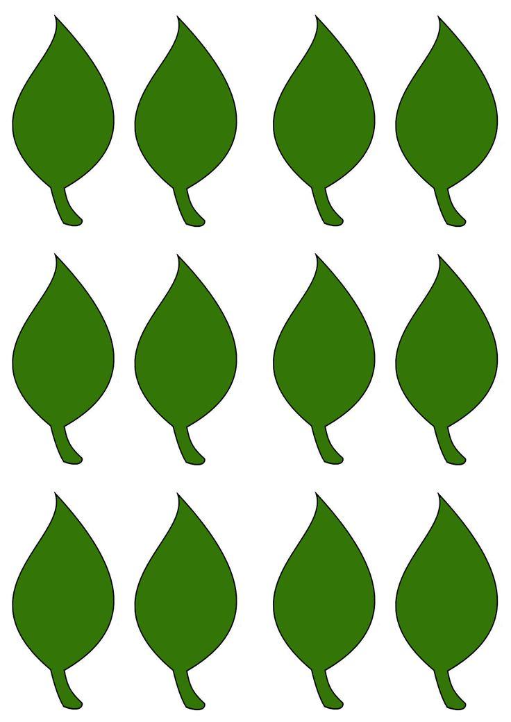 зеленые листья картинки для оформления распечатать и вырезать три мартиницы