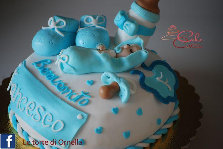 torta per la nascita di Francesco