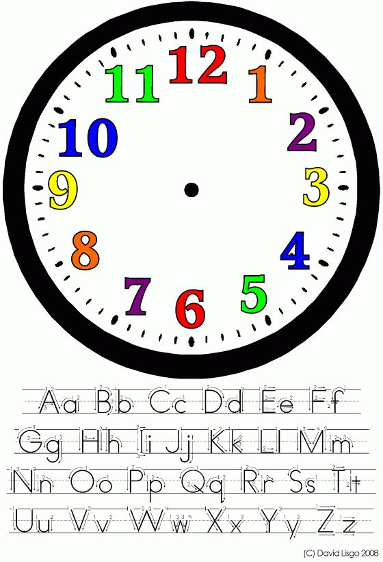 The 25+ best Clock face printable ideas on Pinterest ...