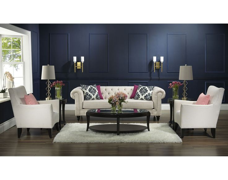 Living Room Furniture The Tristan Collection Sofa