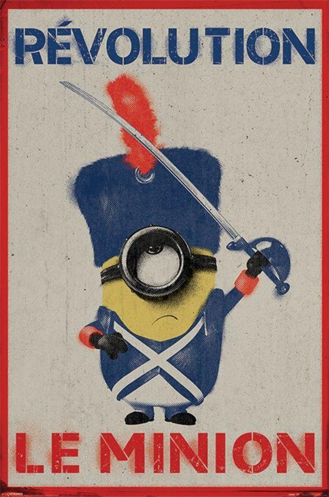 Minions - Revolution Le Minion - Official Poster
