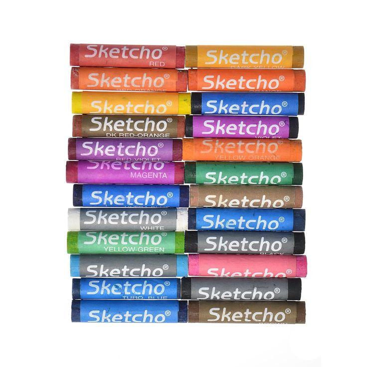 Prang Sketcho Oil Pastel Crayons
