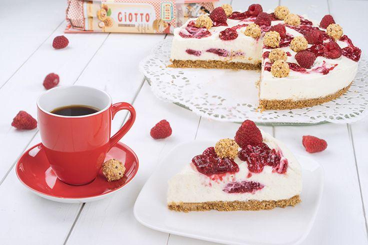 Giotto Kühlschranktorte mit Himbeeren - Ohne Backen / No Bake Giotto Cake