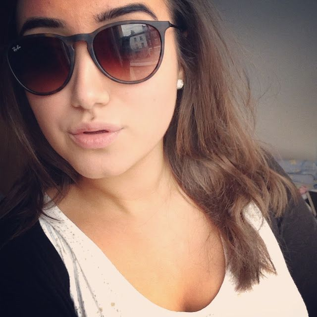 Giveaway! Ray Ban Erika ~ Makeup and Beauty Blog - A Little Obsessed