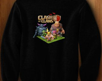 clash of clans sweater on Etsy, a global handmade and vintage marketplace.