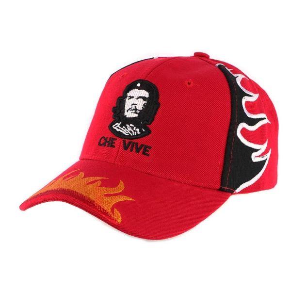 Casquette Baseball Rouge Che Guevara #nouveaute #mode #vintage #casquette #snapback #bonplan avec Hatshowroom.com votre boutique Headwear #StartUp