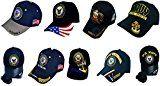 Buy Caps and Hats U.S. Navy Veteran Baseball Cap Vet Military Mens One Size