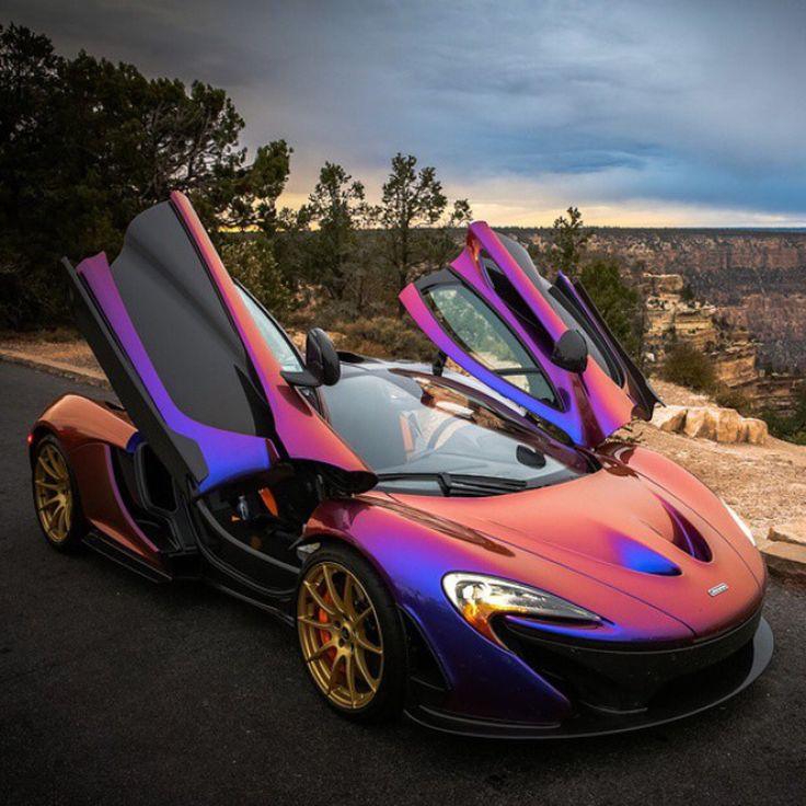"MSO McLaren P1 painted in ""Cerberus Pearl""   Photo taken by: @Shmee150 on Instagram (@cjwilsonphoto on Instagram is the owner of the car)"