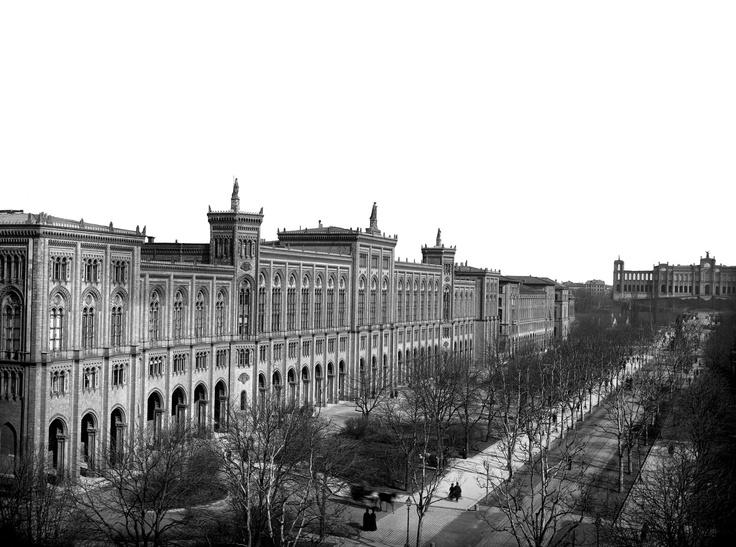 Staatskanzlei (Bavarian State Chancellery), ca. 1900