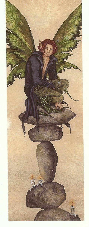 Amy Brown Fairy Bookmark Nimble Jack Male Boy Fantasy | eBay