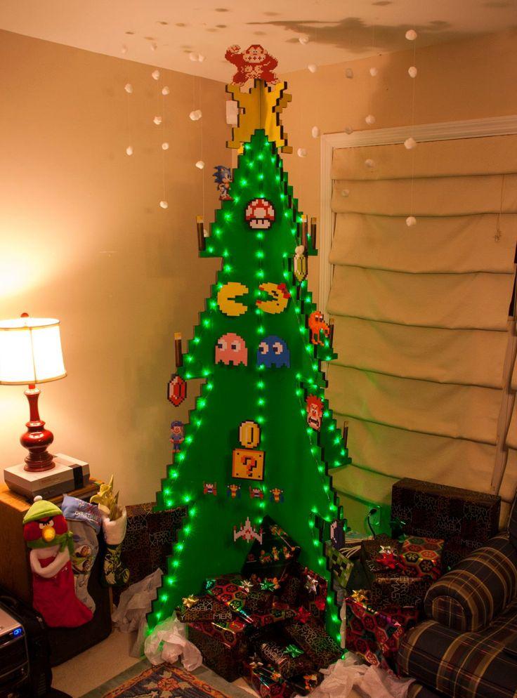 54,3M - 40 sapins complètement déjantés qui n'ont rien à envier aux traditionnels arbres de Noël | Daily Geek Show