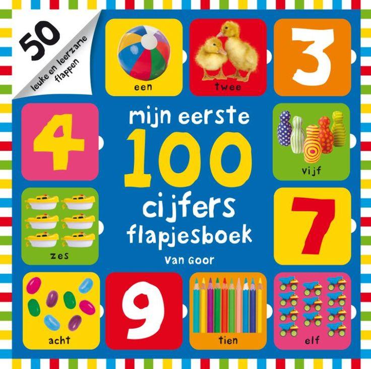 Spelenderwijs leren tellen Met dit leerzame flapjesboek zal het leren van cijfers voor jonge kinderen met sprongen vooruitgaan.