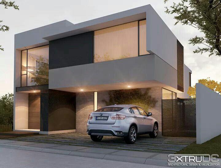 Fachadas #facadasminimalistasblancas #casasminimalistasinteriores #casasminimal …   – Modern Architecture