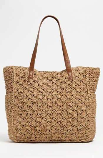 Straw Studios Crochet Tote bag
