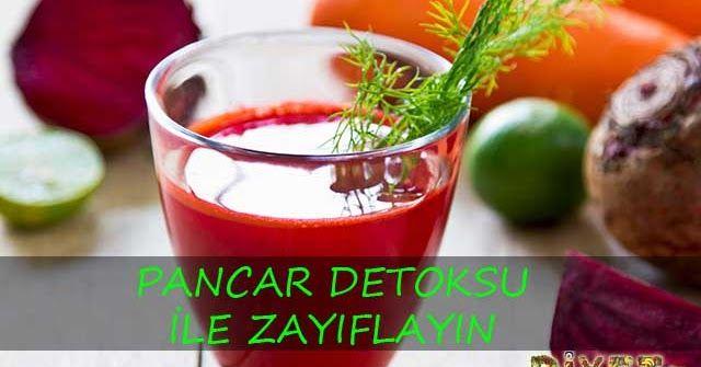 Pancar detoksu metabolizmayı hızlandırır, bağırsak sistemini düzenler. Detoks ile zayıflayın.