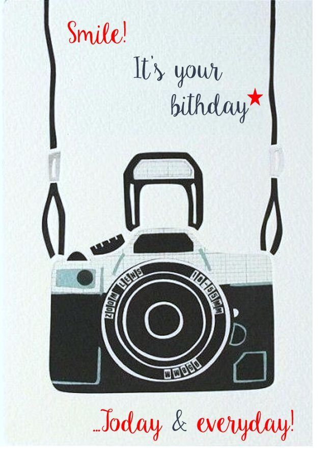 Открытки, открытки с днем рождения мужчины фотографа