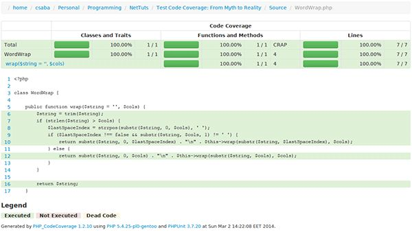 Test Code Coverage: From Myth to Reality - Tuts+ Code Article