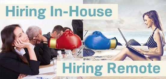 Hiring In-House vs Hiring Remote | Yup Video | Written by @Jimmylee Remillard | Blog |